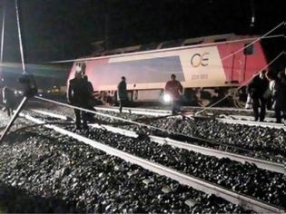 Φωτογραφία για Εκτροχιάστηκε βαγόνι τρένου προς τη Χαλκίδα