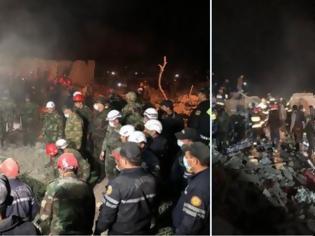Φωτογραφία για Αζερμπαϊτζάν: Επίθεση με πυραύλους στην Γκάντσα -