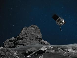 Φωτογραφία για Το διαστημικό σκάφος OSIRIS-REx προσγειώνεται στον αστεροειδή Bennu