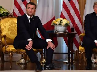 Φωτογραφία για Τραμπ: Υποβίβασε σε «πρωθυπουργό» της Γαλλίας τον Μακρόν