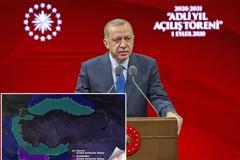 Νέο προκλητικό βήμα με χάρτη από την Τουρκία - Είστε παράνομοι απαντά η Αθήνα