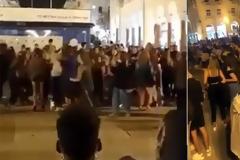 «Χαμός» χθες στη Θεσσαλονίκη - Συνωστισμός στην πλατεία Αριστοτέλους