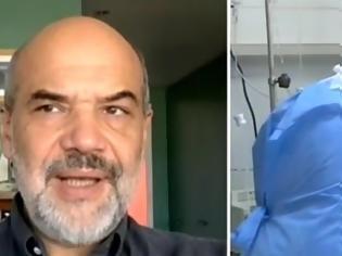 Φωτογραφία για Έλληνας ερευνητής μπορεί με τεστ να προβλέπει πόσο βαριά θα νοσήσει ο ασθενής από κοροναϊό