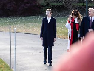 Φωτογραφία για Μπάρον Τραμπ: Ο μικρός «πρίγκιπας» του Λευκού Οίκου