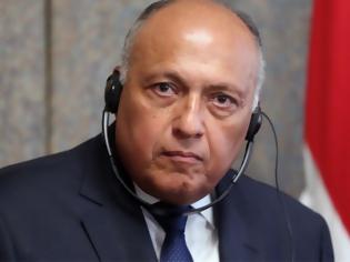 Φωτογραφία για Ο υπουργός Εξωτερικών της Αιγύπτου κατήγγειλε στον Χάικο Μάας την πολιτική της Άγκυρας