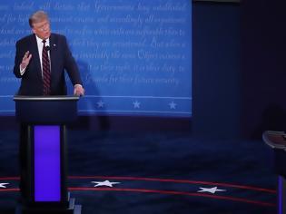 Φωτογραφία για ΗΠΑ: Με κλειστά μικρόφωνα Τραμπ-Μπάιντεν στο τελευταίο ντιμπέιτ