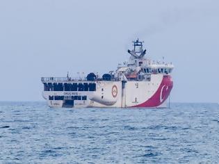 Φωτογραφία για Oruc Reis - «Έσπασε» τα 12 ναυτικά μίλια από το Καστελόριζο και πλέον απομακρύνεται