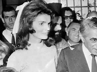 Φωτογραφία για Αριστοτέλης Ωνάσης - Τζάκι Κένεντι: 52 χρόνια από τον γάμο του αιώνα