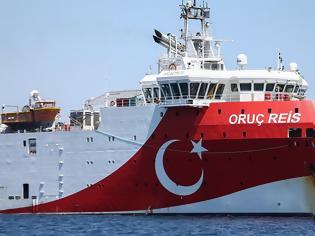 Φωτογραφία για Νέα τουρκική Navtex για το Oruc Reis που πλέει προς το Καστελόριζο
