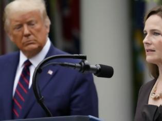 Φωτογραφία για ΗΠΑ: Οι Δημοκρατικοί θα μποϊκοτάρουν τη ψηφοφορία για τον διορισμό της Έιμι Κόνεϊ Μπάρετ στο Ανώτατο Δικαστήριο