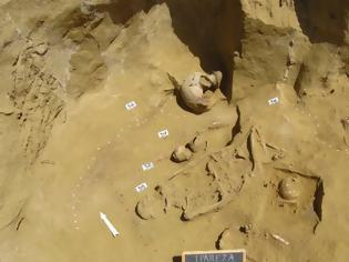 Φωτογραφία για Σημαντικά ευρήματα στην στη μυκηναϊκή νεκρόπολη της Τραπεζάς - φωτος