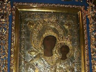 Φωτογραφία για Η εικόνα της Παναγίας της Οδηγήτριας που έφυγε από το Βατοπαίδι και βρέθηκε στην Ι.Μ.Ξενοφώντος
