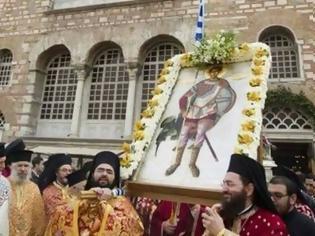Φωτογραφία για Ἅγιος Μεγαλομάρτυς Δημήτριος ὁ Μυροβλύτης