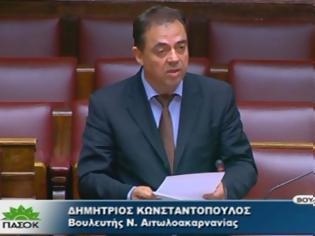 Φωτογραφία για Δημήτρης Κωνσταντόπουλος: Το 2010 ΣΥΡΙΖΑ και Νέα Δημοκρατία συναντιούνταν στις αντιμνημονιακές πλατείες.