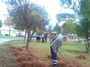Φωτογραφία για Εργασίες συντήρησης και ευπρεπισμού του πάρκου του Αστακού.