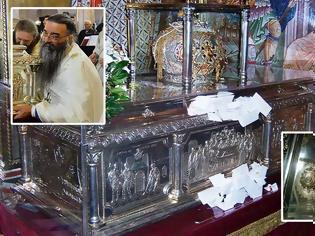 Φωτογραφία για Ρέει Μύρο η Κάρα του Αγίου Δημητρίου του Μυροβλύτη στη Θεσσαλονίκη (φωτογραφίες)