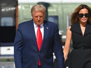 Φωτογραφία για Είναι ή δεν είναι η Μελάνια Τραμπ; Μήπως ήταν σωσίας της;