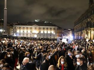 Φωτογραφία για Επεισόδια σε Τορίνο και Μιλάνο σε διαδηλώσεις κατά των περιοριστικών μέτρων