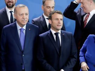 Φωτογραφία για «Πόλεμος» Μακρόν - Ερντογάν: Οργή στην Ευρώπη κατά Τουρκίας