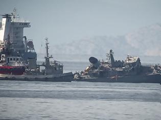 Φωτογραφία για Ψάχνουν πώς έγινε το ατύχημα με το «Καλλιστώ»: Σοκάρουν οι εικόνες με το πλοίο κομμένο στα δύο
