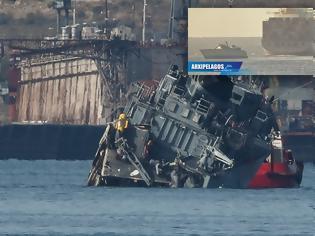 Φωτογραφία για Ναρκοθηρευτικό «Καλλιστώ»: Η ταχύτητα του container ship προκάλεσε την σύγκρουση;