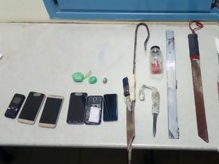 Φωτογραφία για Ναρκωτικά, μαχαίρια, σουβλιά και μηχανές τατουάζ βρέθηκαν στις φυλακές Δομοκού