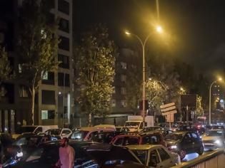 Φωτογραφία για Ρεκόρ μποτιλιαρίσματος στο Παρίσι λόγω μαζικής εξόδου των πολιτών πριν το lockdown