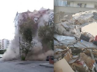 Φωτογραφία για Σεισμός στην Τουρκία: καταρρέουν κτήρια στη Σμύρνη