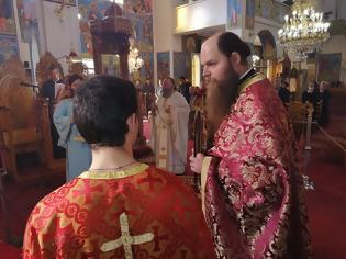 Φωτογραφία για Με θρησκευτική κατάνυξη τελέστηκε η Πανηγυρική Θεία Λειτουργία στον Ιερό Ναό του Αγίου Γεωργίου Βασιλοπούλου.