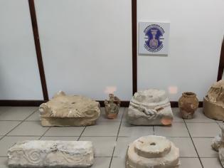 Φωτογραφία για Χειροπέδες σε 40χρονο αρχαιοκάπηλο για πολύτιμα αρχαία