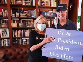 Φωτογραφία για Η πρώτη ανάρτηση της Τζιλ Μπάιντεν μετά την εκλογική νίκη
