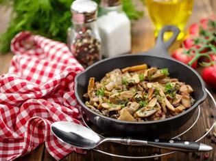 Φωτογραφία για Ο σωστός τρόπος να μαγειρέψεις μανιτάρια στο τηγάνι