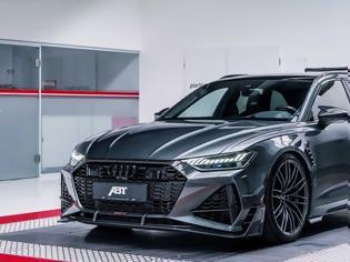 Φωτογραφία για ABT Sportsline Audi RS6 Avant.