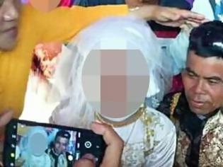 Φωτογραφία για Ανάγκασαν 13χρονη να παντρευτεί 48χρονο - Έγινε η 5η σύζυγός του