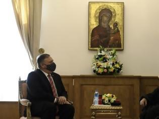Φωτογραφία για Συνάντηση Πομπέο - Βαρθολομαίου: «Bασικός εταίρος το Οικουμενικό Πατριαρχείο»