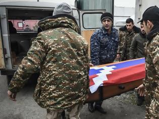 Φωτογραφία για Ναγκόρνο Καραμπάχ: Μπακού και Γερεβάν αντάλλαξαν 200 σορούς από τις μάχες