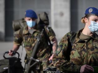 Φωτογραφία για Συναγερμός στην Ελβετία - Στέλνει στρατό ως ενίσχυση στα νοσοκομεία
