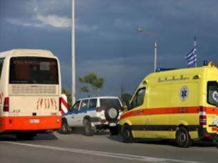 Φωτογραφία για Τραγωδία στο Καματερό: Νεκρό 5χρονο παιδί, που το παρέσυρε λεωφορείο