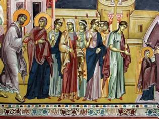 Φωτογραφία για Τα Εισόδια και οι 4 Είσοδοι της Θεοτόκου.