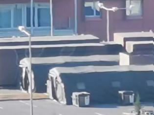 Φωτογραφία για Φορητή κινητή μονάδας νοσηλείας στήθηκε έξω από το 424 Στρατιωτικό Νοσοκομείο