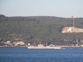 Φωτογραφία για Τουρκία: Ελληνικό πολεμικό πλοίο δεν σήκωσε την τουρκική σημαία διασχίζοντας τα Στενά