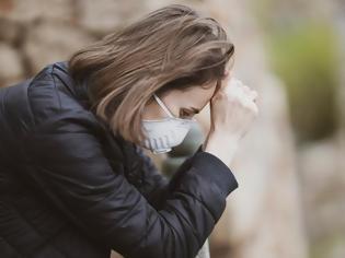 Φωτογραφία για Έρευνα: Κατάθλιψη και μετατραυματικό στρες για το 20% ατόμων που ανέρρωσαν από κορωνοϊό