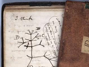 Φωτογραφία για Έκλεψαν σημειωματάρια του Δαρβίνου από το Πανεπιστήμιο του Κέιμπριτζ