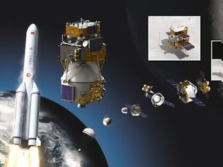 Φωτογραφία για Chang'e 5 : Εκτοξεύθηκε προς τη Σελήνη η ιστορική ρομποτική αποστολή της Κίνας