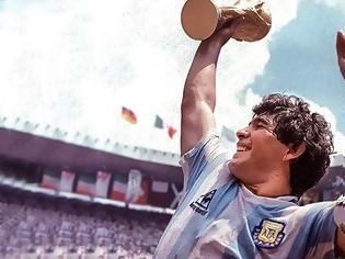 Φωτογραφία για Ντιέγκο Μαραντόνα: Το χέρι του Θεού και το γκολ του... Θεού - Δείτε βίντεο
