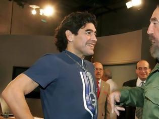 Φωτογραφία για Φιντέλ Κάστρο - Μαραντόνα: «Έφυγαν» την ίδια μέρα - Η φιλία του ηγέτη της Κούβας με τον…. κομαντάντε των γηπέδων