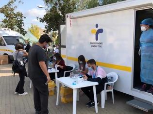 Φωτογραφία για Οι περιοχές που κατανέμονται τα 2018 νέα κρουσματα. 562 Θεσσαλονίκη 408 Αττική