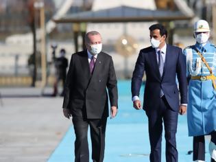 Φωτογραφία για «Σανίδα σωτηρίας» στην τουρκική οικονομία: Το Κατάρ εξαγόρασε το 10% του χρηματιστηρίου της Κωνσταντινούπολης