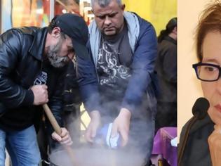 Φωτογραφία για Δήμητρα Γαλάνη: Οι κατηγορίες για παρεμπόδιση της κοινωνικής κουζίνας, οι επιθέσεις και οι εξηγήσεις