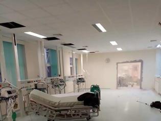 Φωτογραφία για Ασφυκτική η κατάσταση στο νοσοκομείο Αλεξανδρούπολης -Γκρεμίζουν τοίχους για να φτιάξουν ΜΕΘ